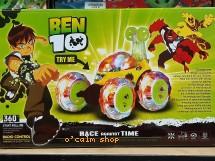 Voiture a roulette BEN race against time